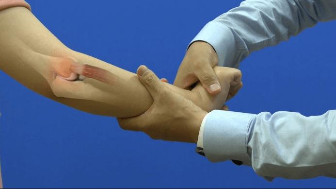 Exame físico do cotovelo